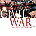 Panini marvel : secret wars civil war 1
