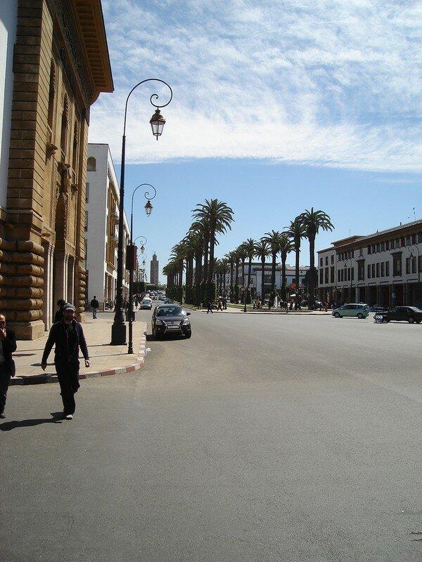 Rabat centre ville administratif