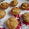 *** muffins pomme - cannelle ***