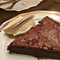 Le délicieux moelleux au chocolat express