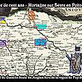 Guerre de cent ans mortagne sur sèvre en poitou ; quand du guesclin bouta les anglais hors de la région du puy du fou