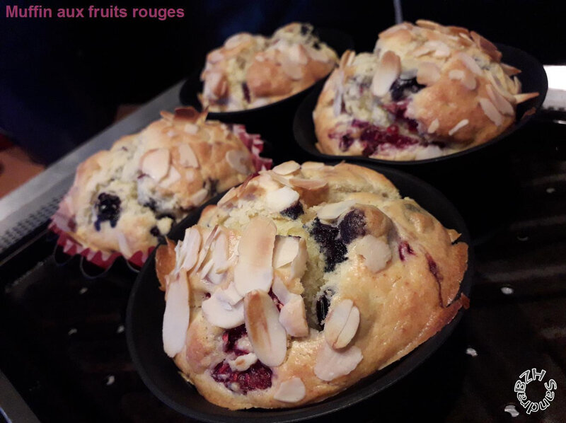 3101 Muffins aux fruits rouges 1
