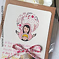 Catho Box Vierge à l'Enfant (rose) - 23 €