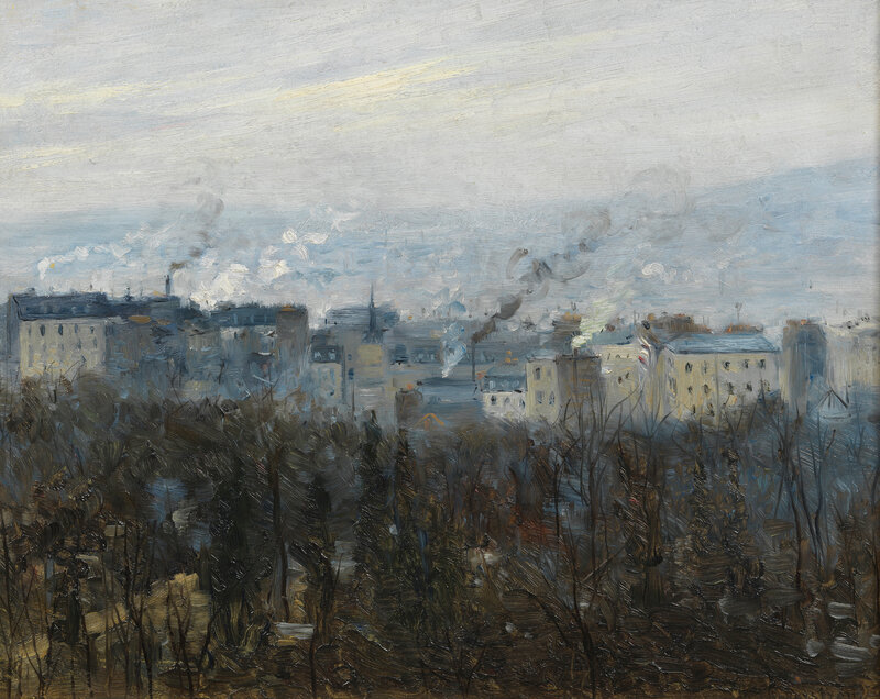 Robert Thegerström, On the Outskirts of the City