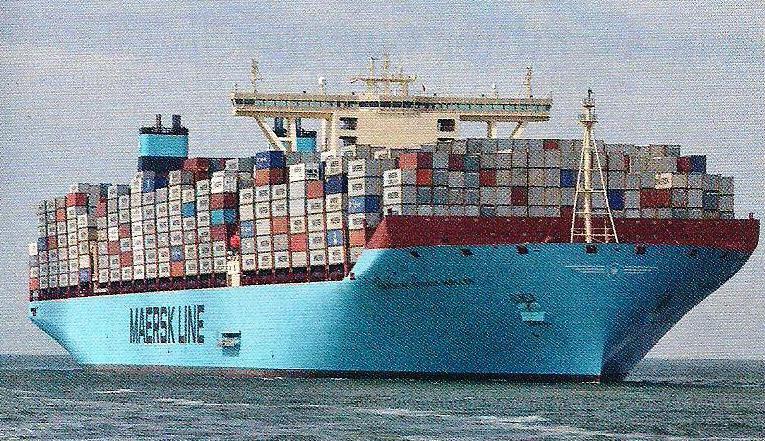 photo flux commerciaux - révolution des conteneurs 1
