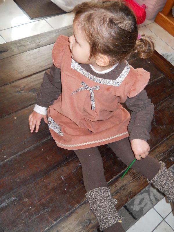 Robe japonaise Nani Iro en velours
