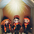 Harry potter, hermione et ron..