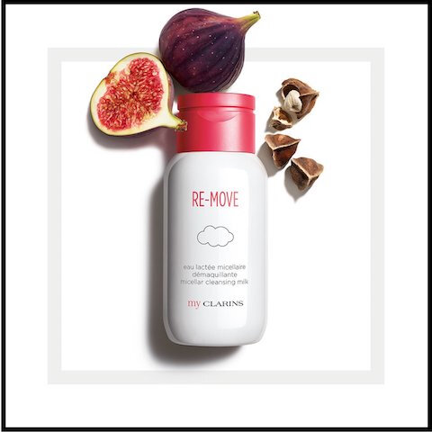 clarins re move eau lactee micellaire