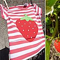 tshirt fraise