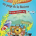 2014-Fête du mimosa au pays de la Rivièra le 23 février 2014.