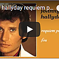 Requiem pour un fou - johnny hallyday (partition sheet music)