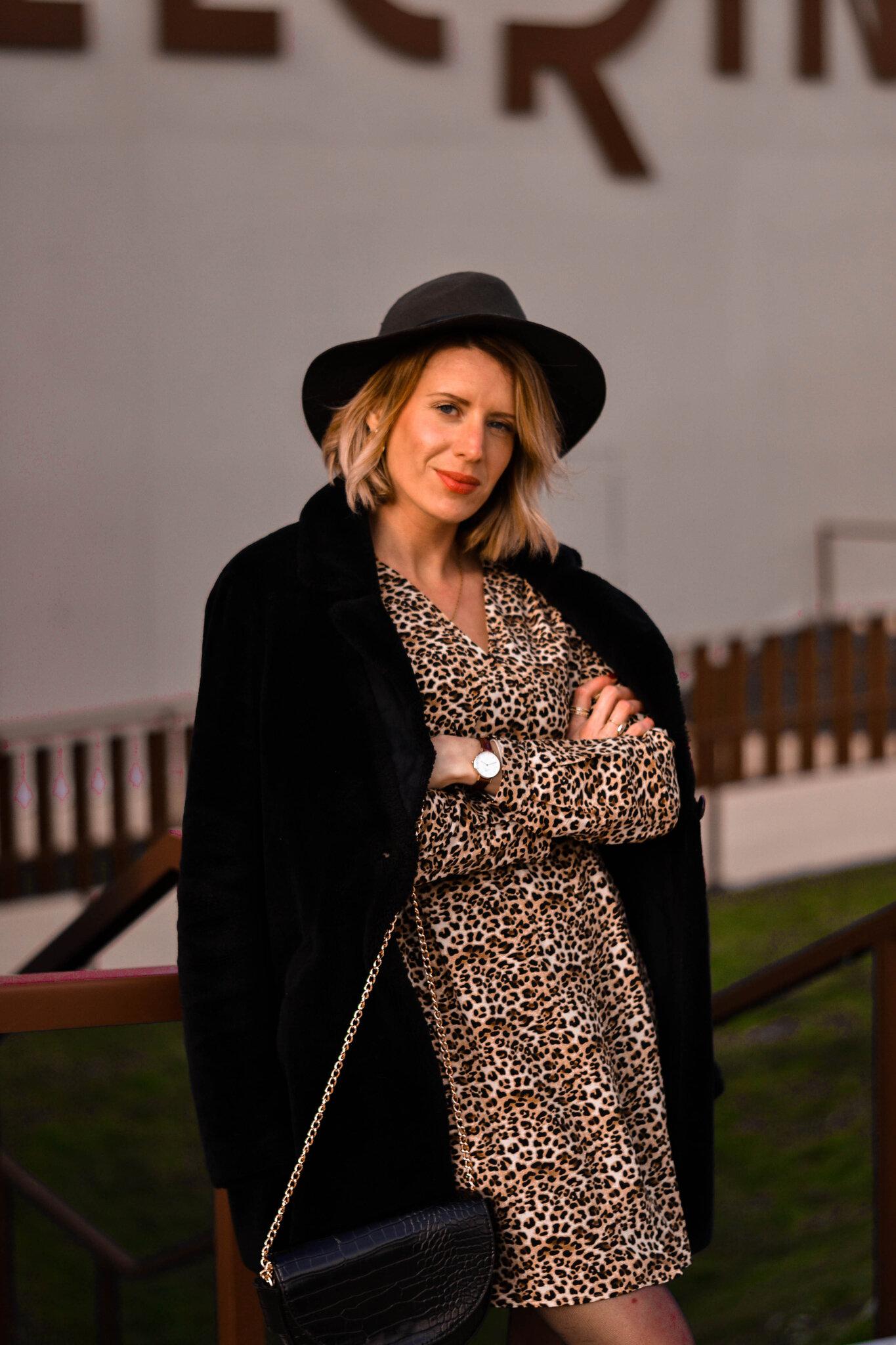Look look look # La robe léopard