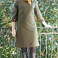 Ma couture d'hiver : une nouvelle petite robe de vanessa pouzet