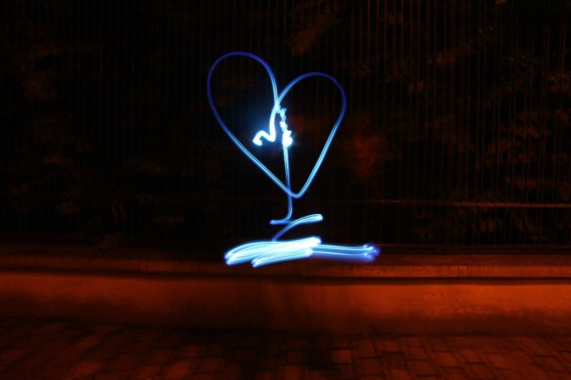 Coeur Light painting_5400