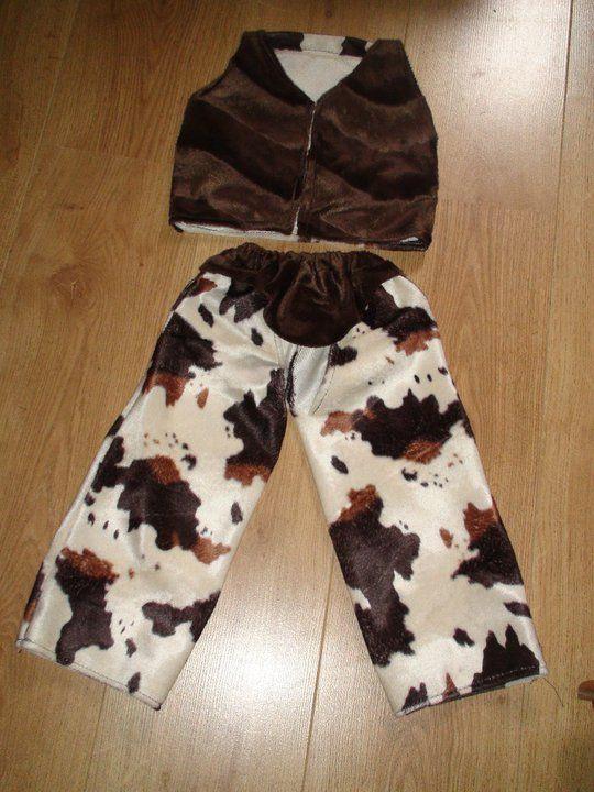 costume de cow boy