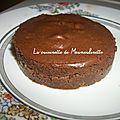 Mini entremets chocolat-cookies