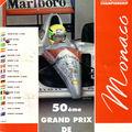 Monaco-GP 1992-programme