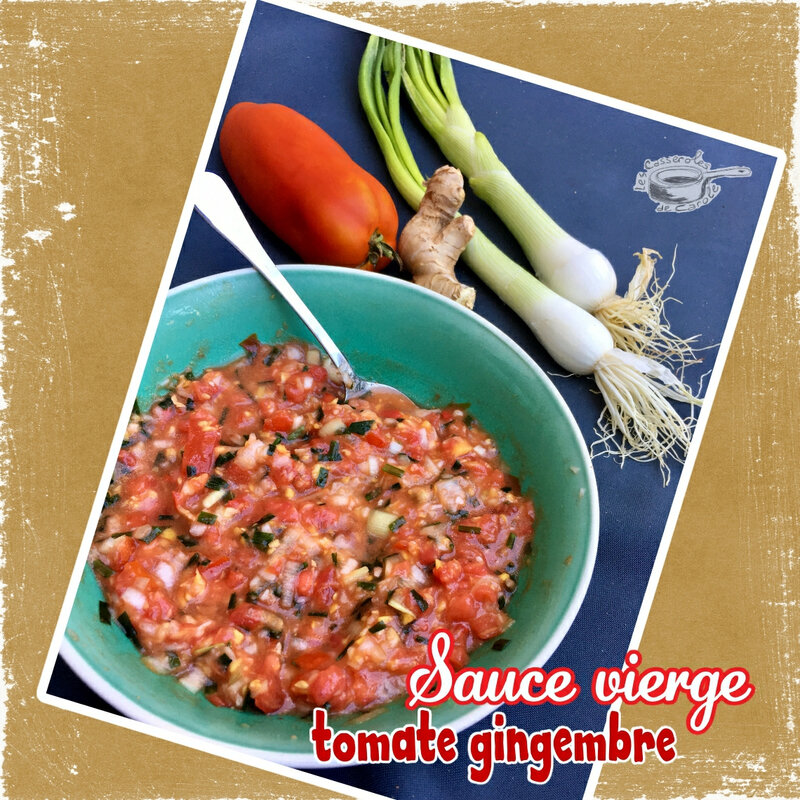 sauce vierge tomate gingembre (SCRAP)