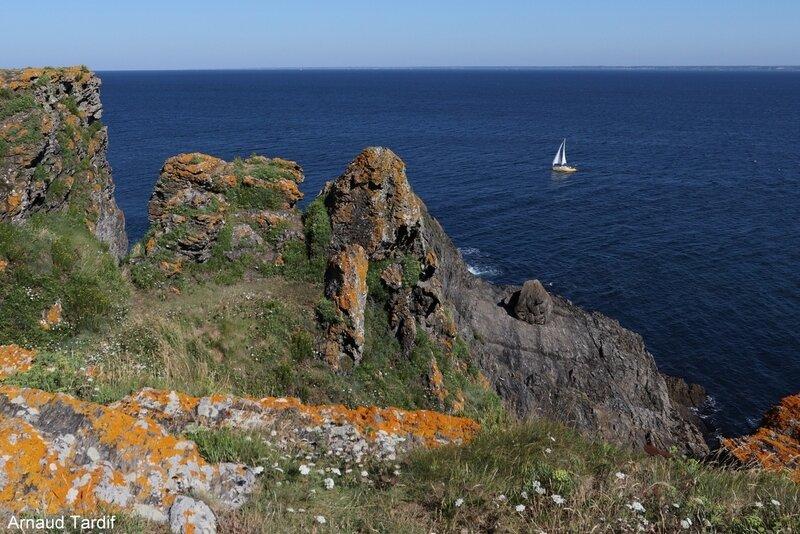 00715 Guidel - L'Ile de Groix - De la Pointe de Pen-Men au Sémaphore de Beg Melen