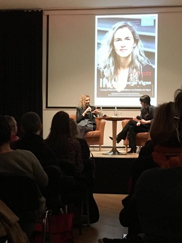 Delphine de Vigan à Berlin le 21 novembre 2018 - 3