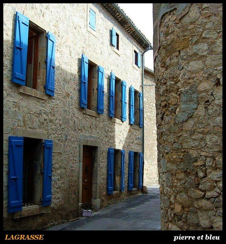 LAGRASSE - pierre et bleu