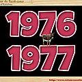 .CLASSE en : 1976 / 77