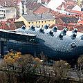 Kunsthaus graz - autriche