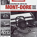 Course de côte du mont-dore (france) 1962 - 1995 / hill climb of mont-dore (france) 1962 - 1995