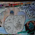 Challenge artjournal et gribouillages # 53 : rêves d'enfant