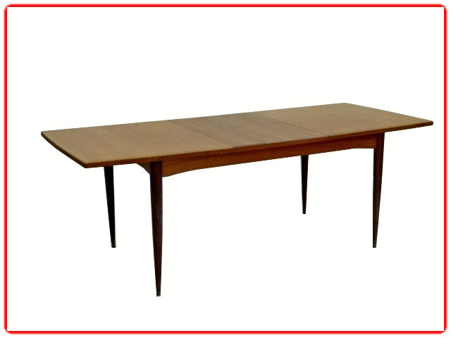 table teck scandinave 1960