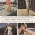 1948 publicité pour des maillots de bains