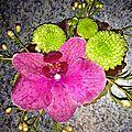 Cours art floral boutonnière
