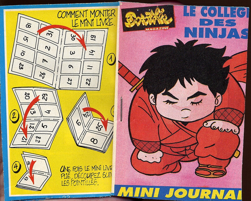 Canalblog Anime Album Anime comics L'Academie des ninjas01 Club Do