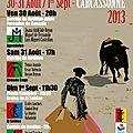 Carcassonne 2013 : feria du novillo