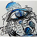Watch with glittering eyes... une carte en aallandcreate...