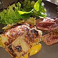Tian de pommes de terre et butternut
