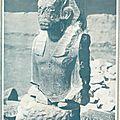 Fouilles en egypte en 1926