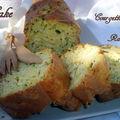 Cake aux courgettes et ravioles