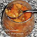 compote abricot gingembre
