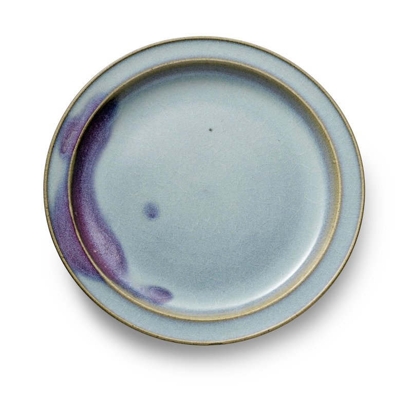 A large Junyao dish Song-Jin dynasty, 11th-12th century