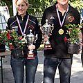 Doublettes mixtes 2013 à lodève( championnat de l'hérault)