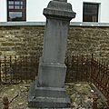 Edouard LIBERT décedé le 7 Mars 1898 & son épouse Zeine GRARE décédée le 19 Juin 1928