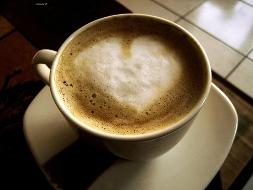 Heart's coffee.