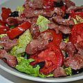 Idée salade de gésiers - 1