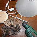 Lampe en bois flotté (3)