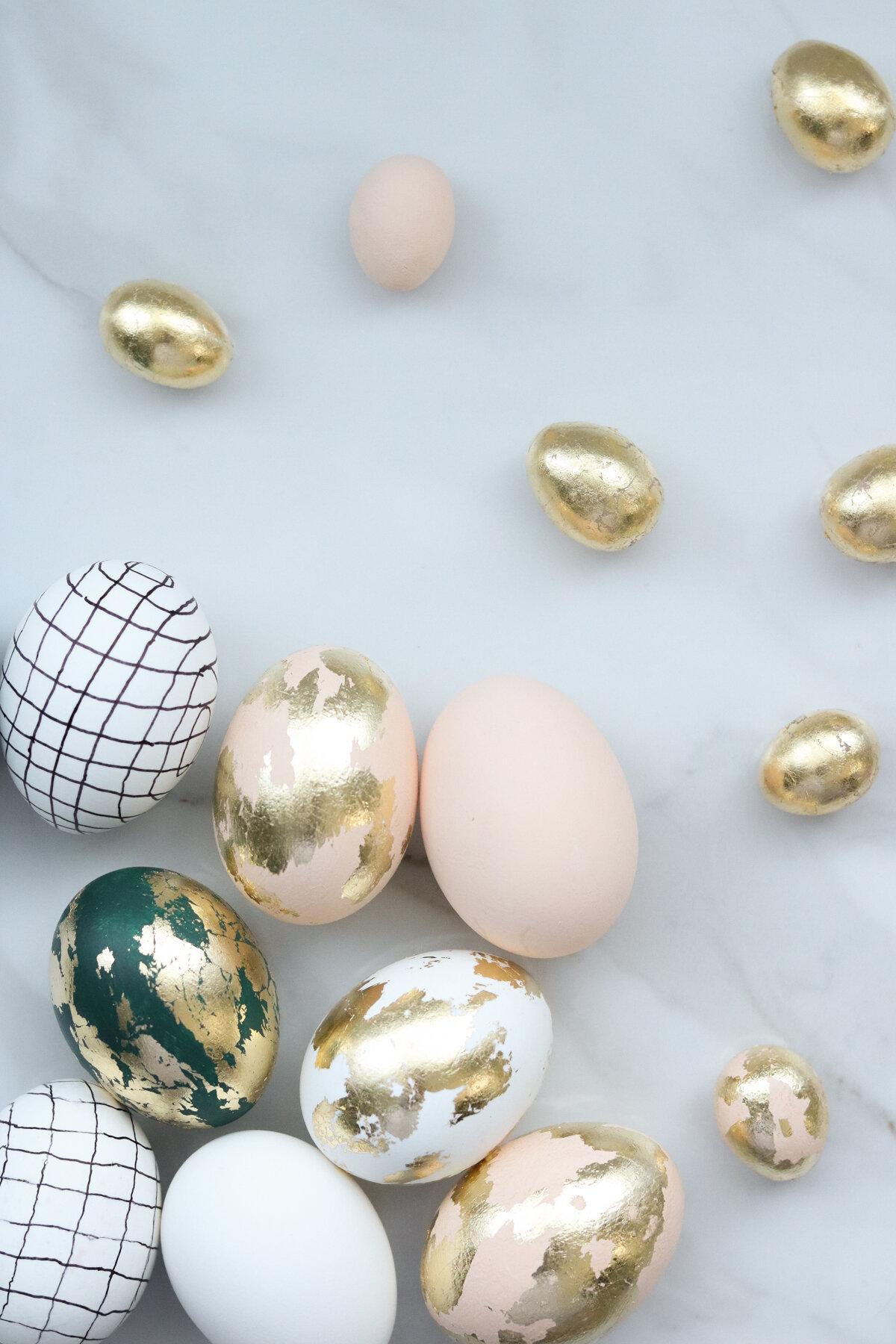 DIY de Pâques : plus d'une douzaine de décos d'oeufs de Pâques qu'on a envie de copier