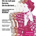 Simone de beauvoir : on ne nait pas femme, on le devient - festival avignon 2011