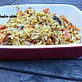 Risotto carottes/champignons