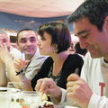 Saison 2010-2011, repas des Carassons, 1er avril