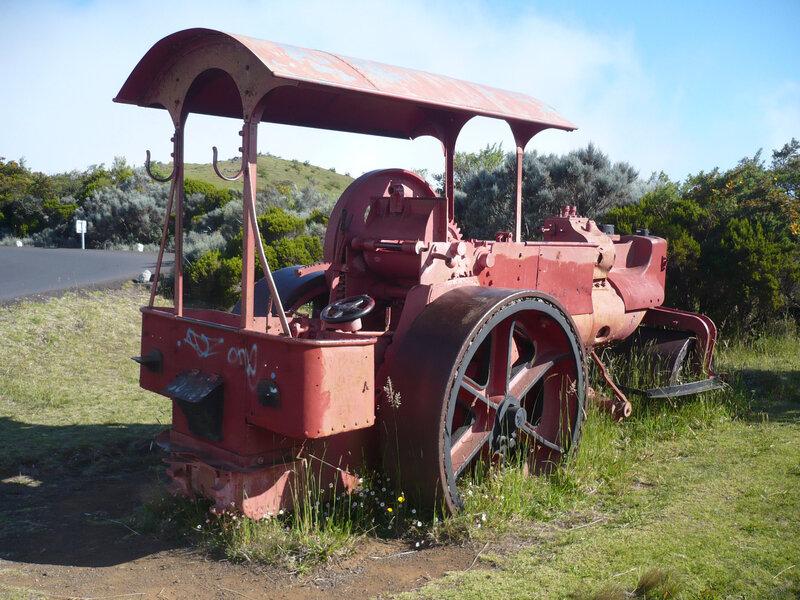 ALBARET rouleau compresseur à vapeur Bourg Murat (2)